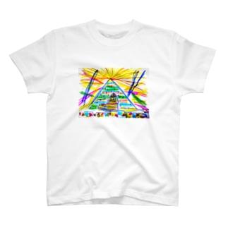 pyramid🙀 T-shirts