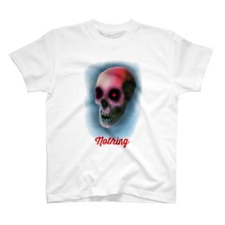 Nothing Skull  T-shirts