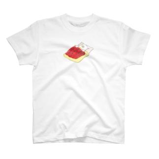 お布団 T-shirts
