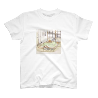 こたつでぐっすり T-shirts
