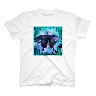クロアゲハII T-shirts