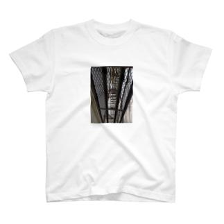 1Fの足場tee T-shirts