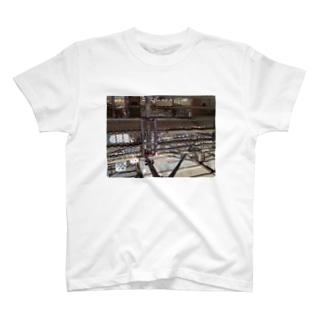 2Fの足場tee T-shirts