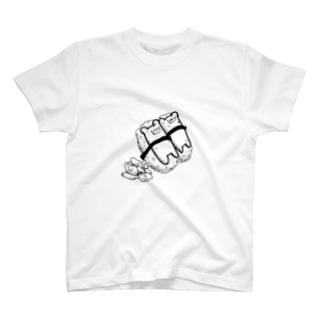 黒瀬のくまのにぎり T-shirts