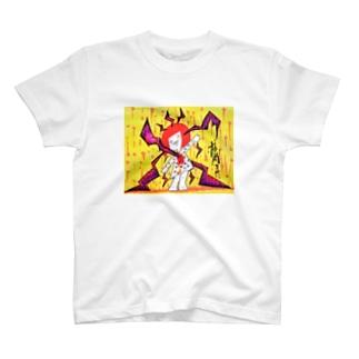 音がささる。 T-shirts