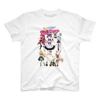 ガールズファイター!ミルクディッパー☆03☆AYA T-shirts