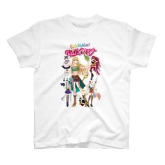 ガールズファイター!ミルクディッパー☆06☆Hitomi T-shirts
