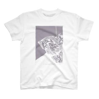 マトウダイ 切り絵 T-shirts