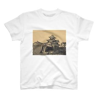 日本の城 小峰城 T-shirts