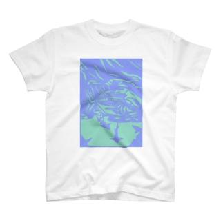 ロウニンアジ 切り絵 T-shirts
