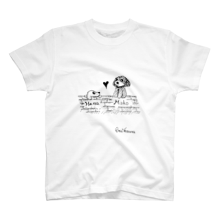 さしすせそ研究室のERIKAWA(田中さん) T-shirts