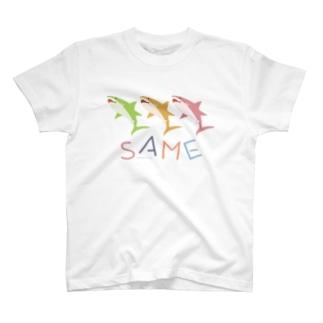 はにかみSAME T-shirts