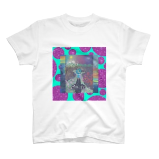 お手製ドット赤み T-Shirt