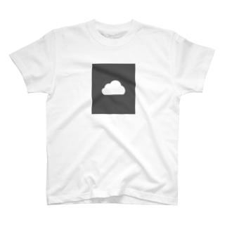 ふつうの雲(色反転) T-shirts
