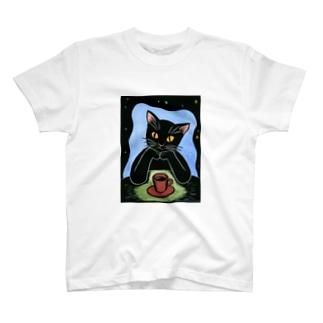 Black coffee T-shirts