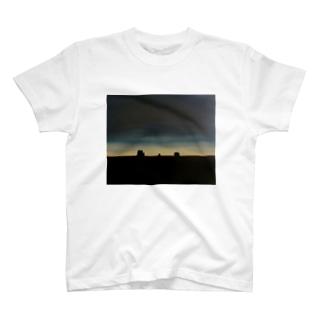 美しい夜明け T-shirts