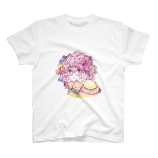 モジャリボン T-shirts