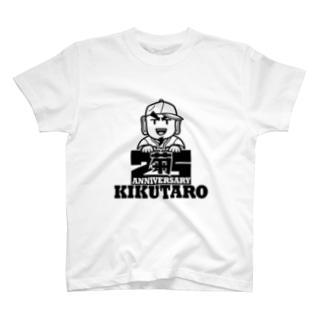 菊タロー25周年シリーズ T-shirts