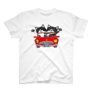 わびさびブラザーズ♪ T-shirts