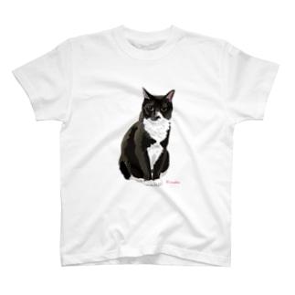 靴下猫 T-shirts