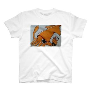 サンタ虐待シリーズ いか T-shirts