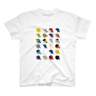 とものとりドリTシャツ T-shirts