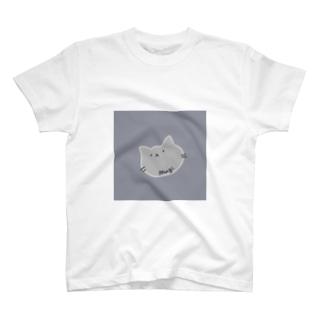 むぎしょっぷのしょぼねこT T-shirts
