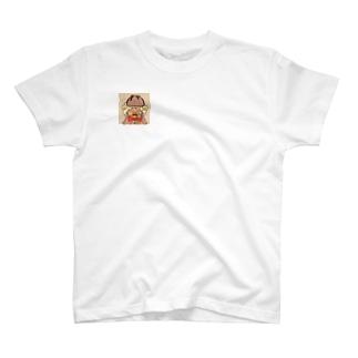 オリジナルキャラ小五郎くんTシャツ T-shirts