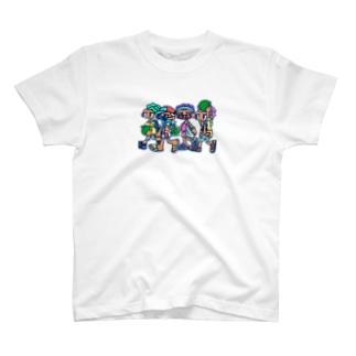 すいか四人衆 T-shirts