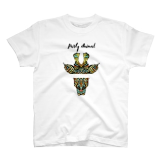PARTY ANIMAL GIRAFFE T-shirts