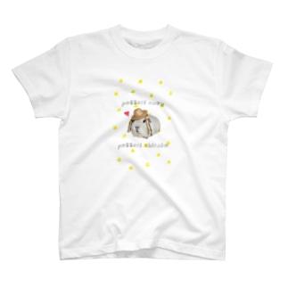 popcorn_jumpのpotteri cavy  T-Shirt