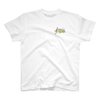 GOOD LUCK!パロット T-shirts