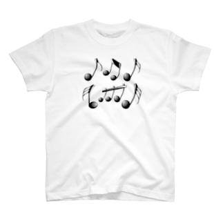 音符 1 T-shirts