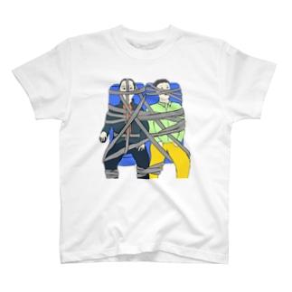 シートベルト締め放題バスツアー T-shirts
