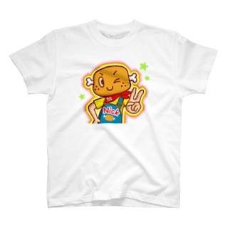 ピース!【ニクニク星人・ニック】 T-shirts