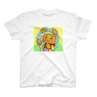 肉ジャグリング【ニクニク星人・ニック】 T-shirts
