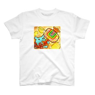 打ち出の小槌【水星人のスイスイちゃん 日本で遊ぶ!】 T-shirts