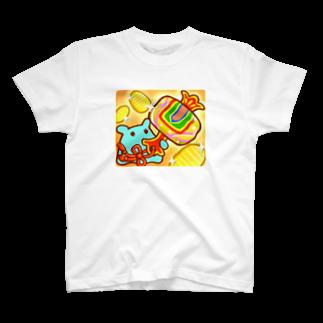 ひじりやノエルの打ち出の小槌【水星人のスイスイちゃん 日本で遊ぶ!】 T-shirts