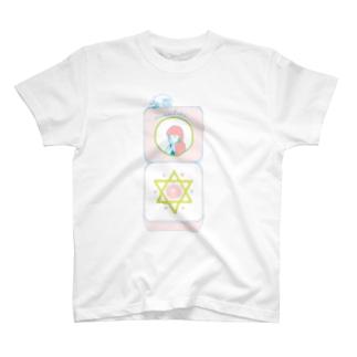 ☆魔法のコンパクト80s☆ T-shirts