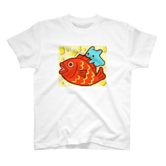 おめで鯛【水星人のスイスイちゃん】 T-shirts
