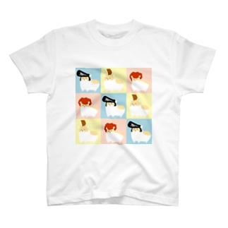 ヤンハムタイル T-shirts