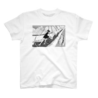 エスカーレーターガール T-shirts