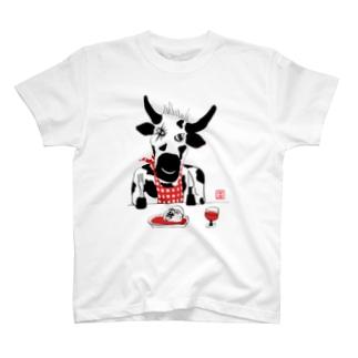 うし 牛 T-shirts