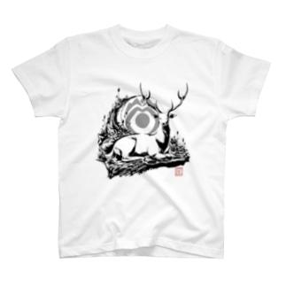 《神鹿》デザイン T-shirts