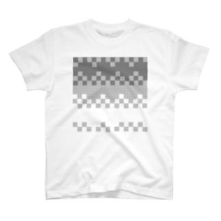 ドットウェーブ T-shirts