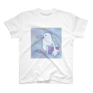 図書館へ行こう T-shirts