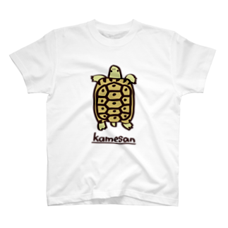 またのギリシャリクガメTシャツ Tシャツ