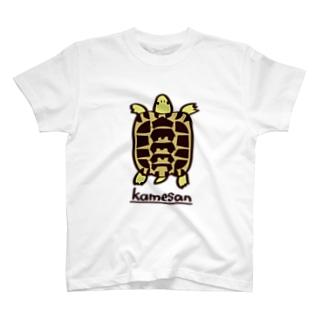 ヘルマンリクガメTシャツ Tシャツ