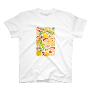 キノコ狩り T-shirts