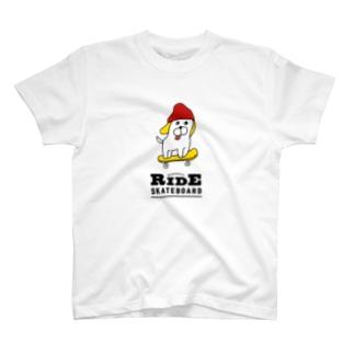 ワンダフルな犬(白) T-shirts